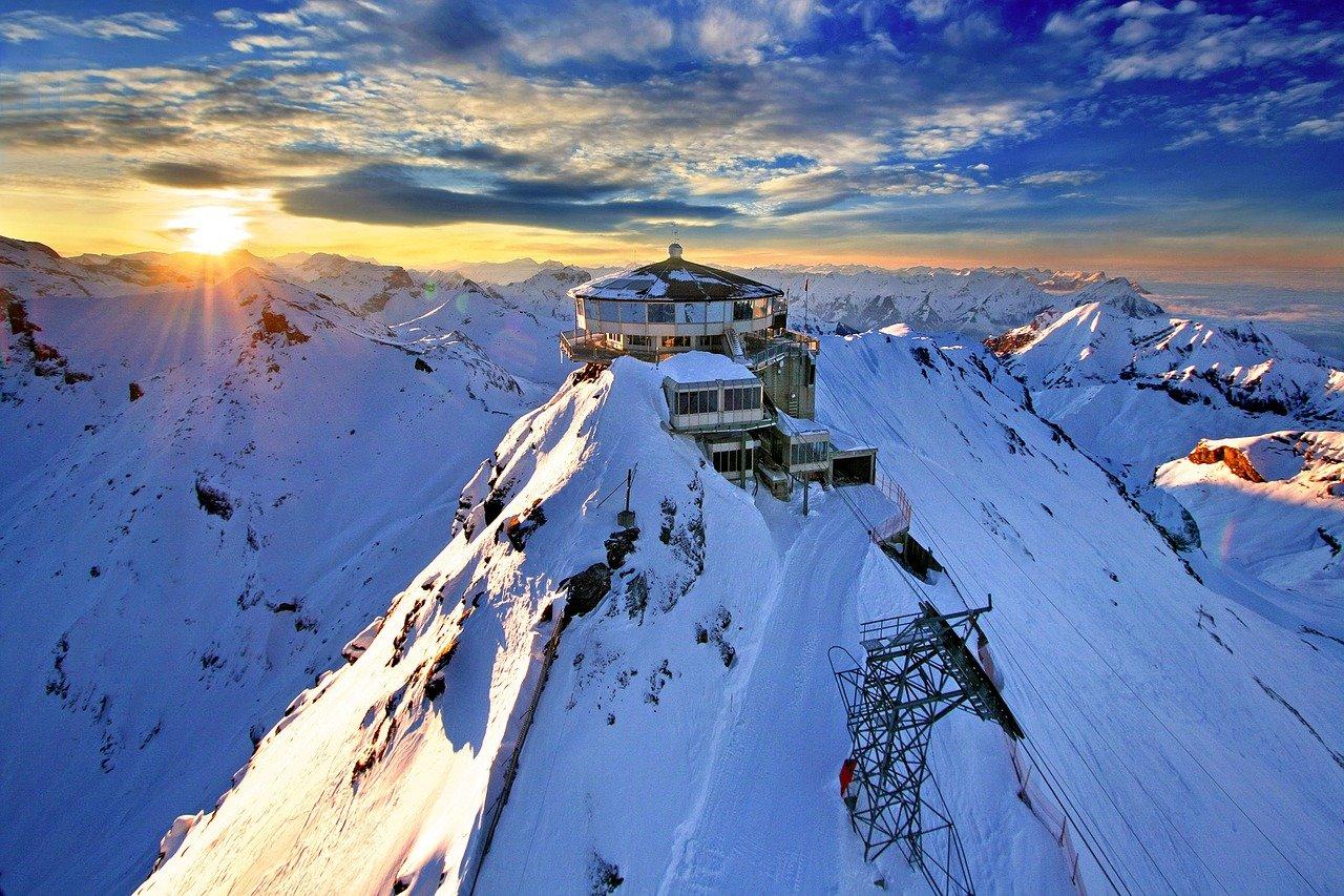 Voyage d'hiver en Suisse